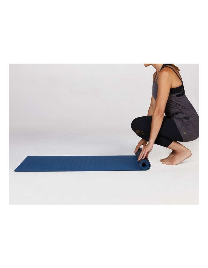 Ultra Sticky 6mm Yoga Mat in Navy image 4