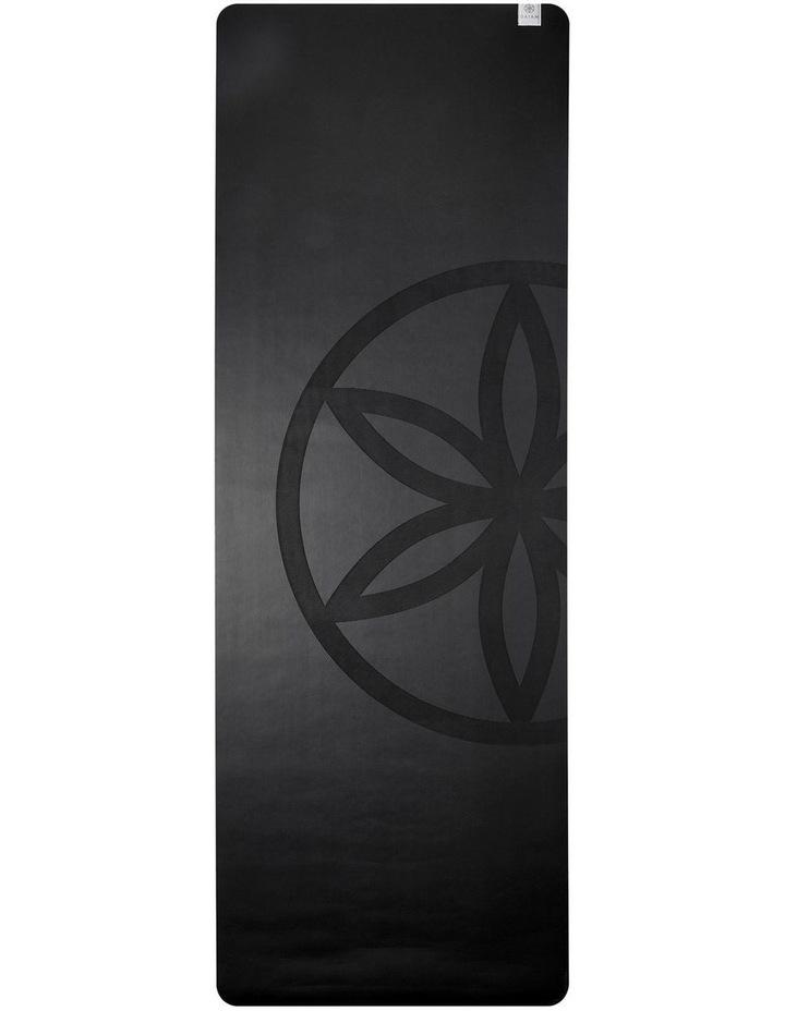 Dry Grip 4mm Yoga Mat in Black image 2