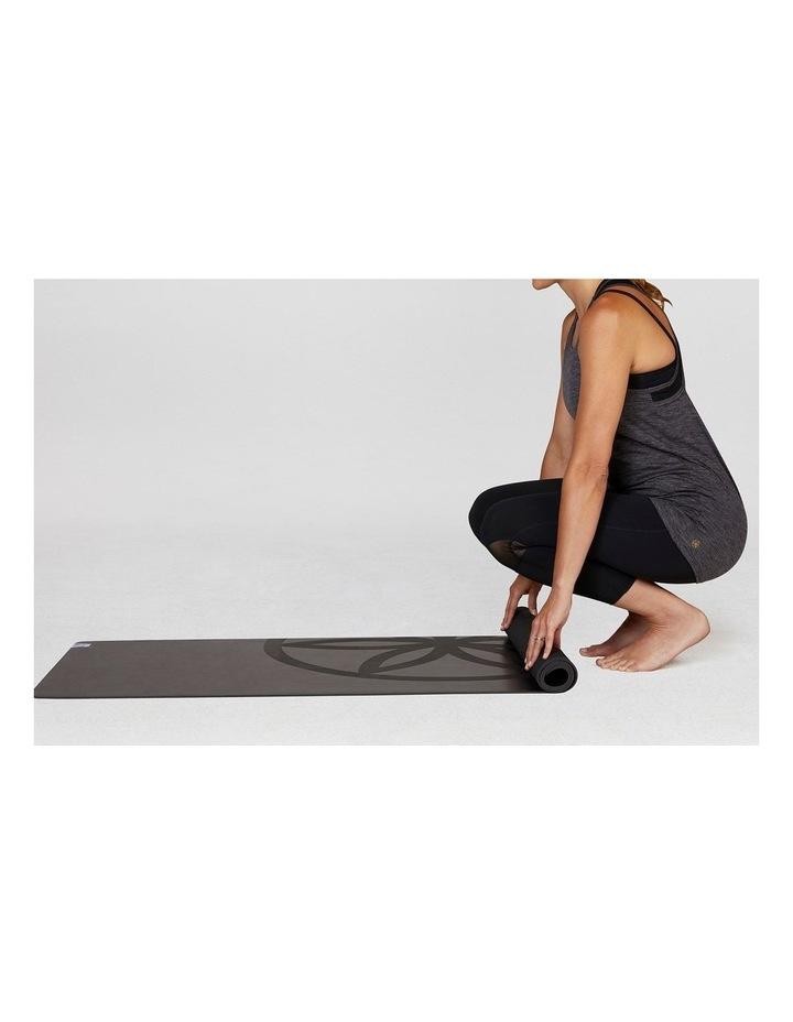 Dry Grip 4mm Yoga Mat - Black image 4