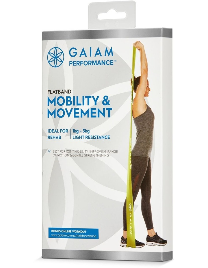 Mobility & Movement Flat Band in Green image 1