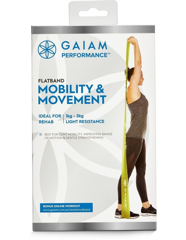 Mobility & Movement Flat Band in Green image 3