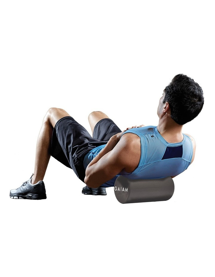 Roll & Stretch Kit 30cm Foam Roller and Stretch Strap in Grey image 5