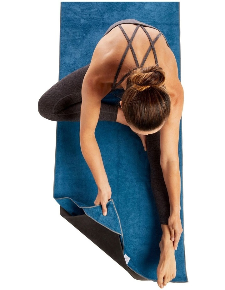 Stay-Put Fitness and Yoga Mat Towel image 2