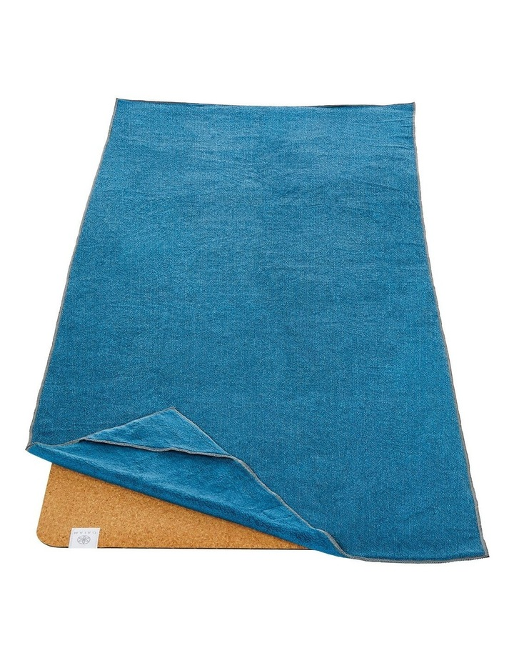 Stay-Put Fitness and Yoga Mat Towel image 3