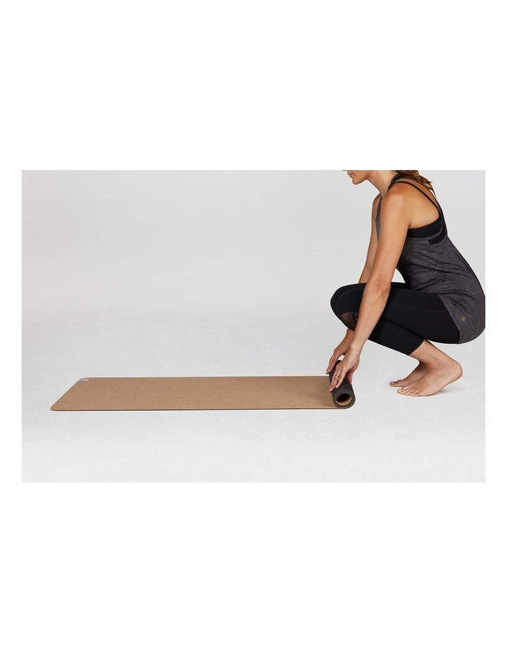 Earthsaver 3mm Yoga Mat - Cork/Tan image 4