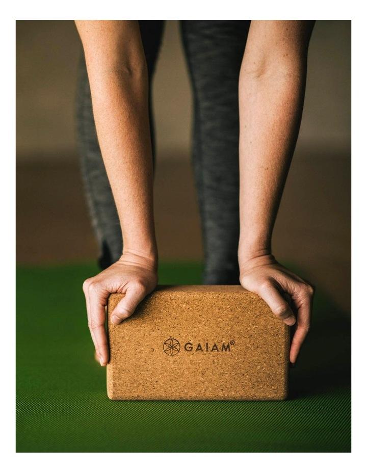 Cork Yoga Block in Tan image 5