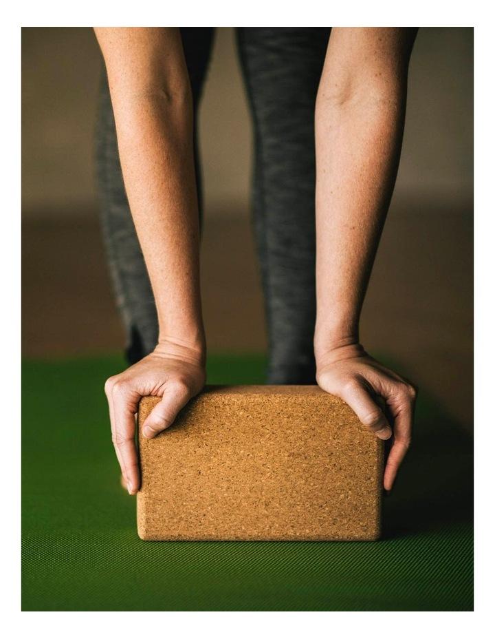 Cork Yoga Block in Tan image 6