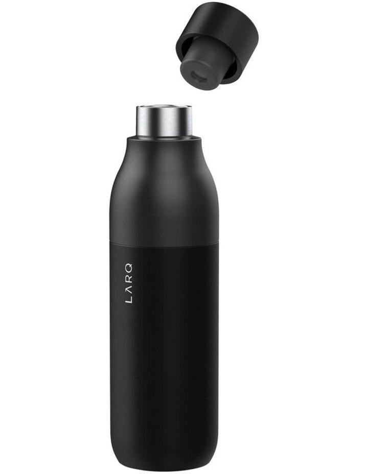 Purifying Water Bottle 500ml - Obsidian Black image 2
