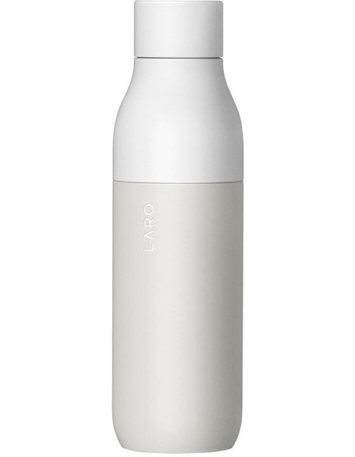 Purifying Water Bottle 500ml - Granite White image 1
