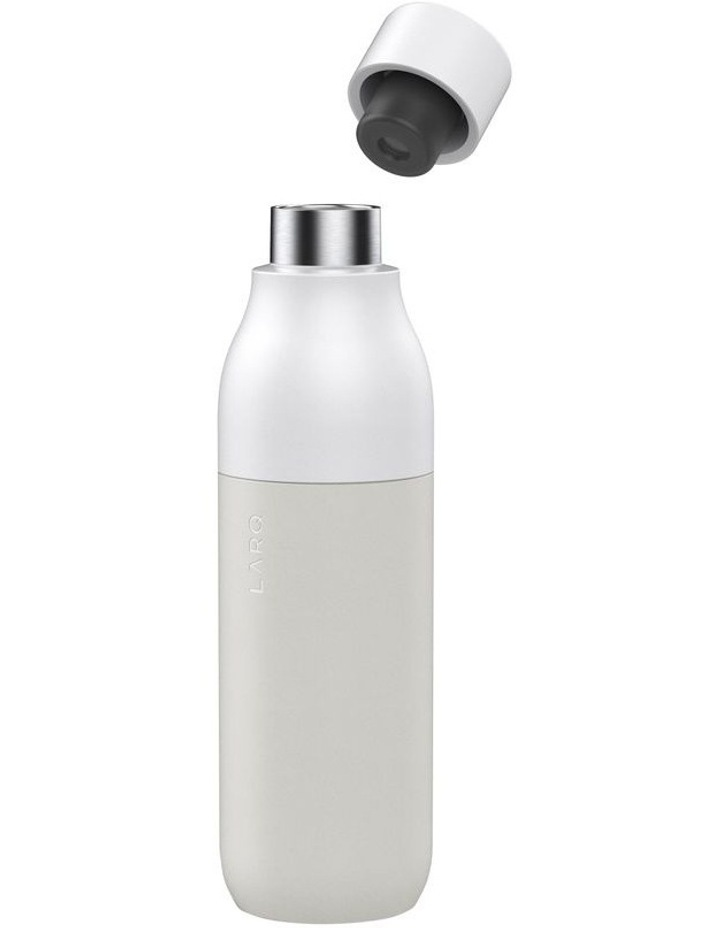 Purifying Water Bottle 500ml - Granite White image 2