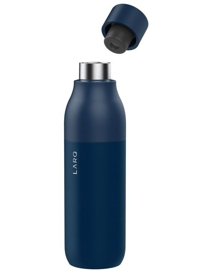 Purifying Water Bottle 740ml - Monaco Blue image 2