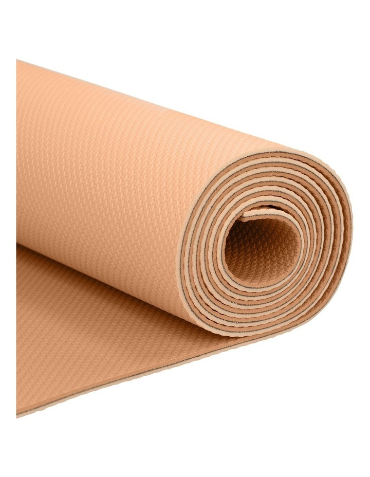 Elementary Regular 4mm Yoga Mat in Peach image 2