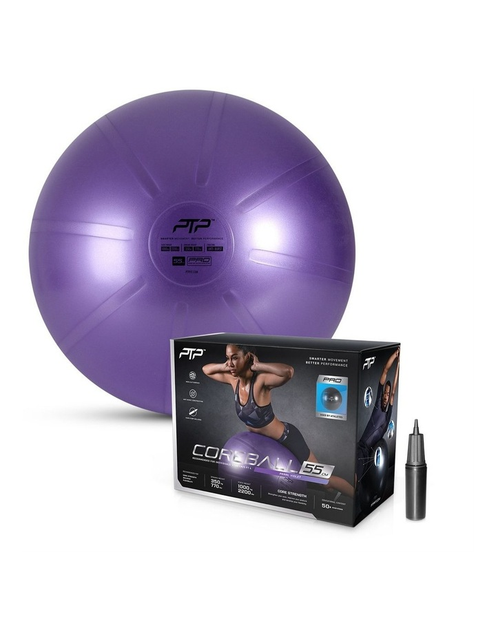 CoreBall 55cm with Pump Pearl Violet image 1
