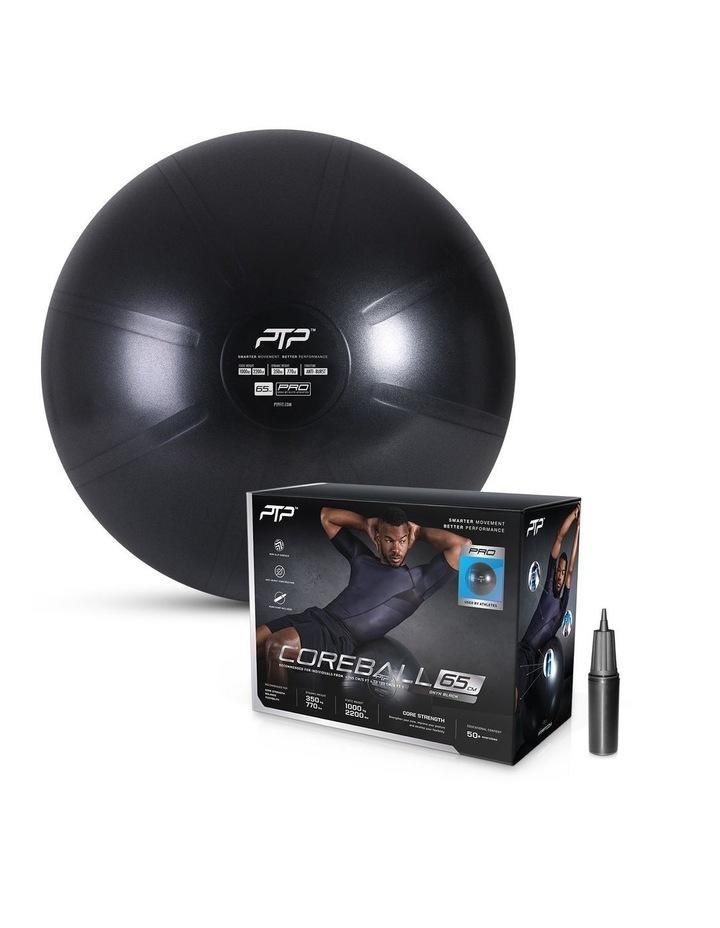 CoreBall 65cm with Pump Onyx Black image 1