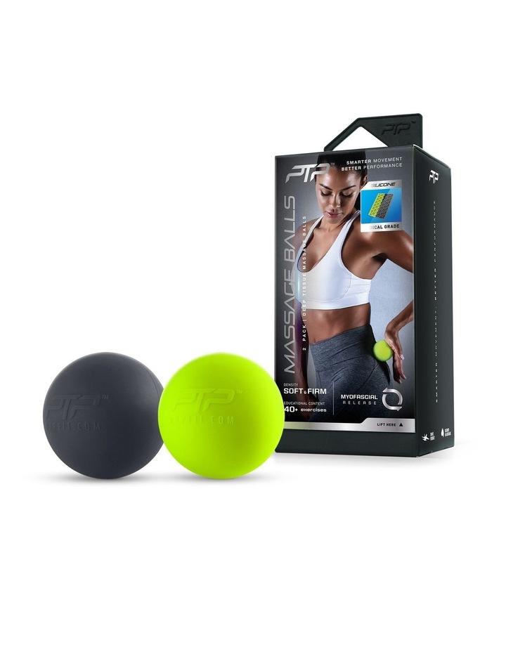 Massage Balls Combination Black/Lime image 1