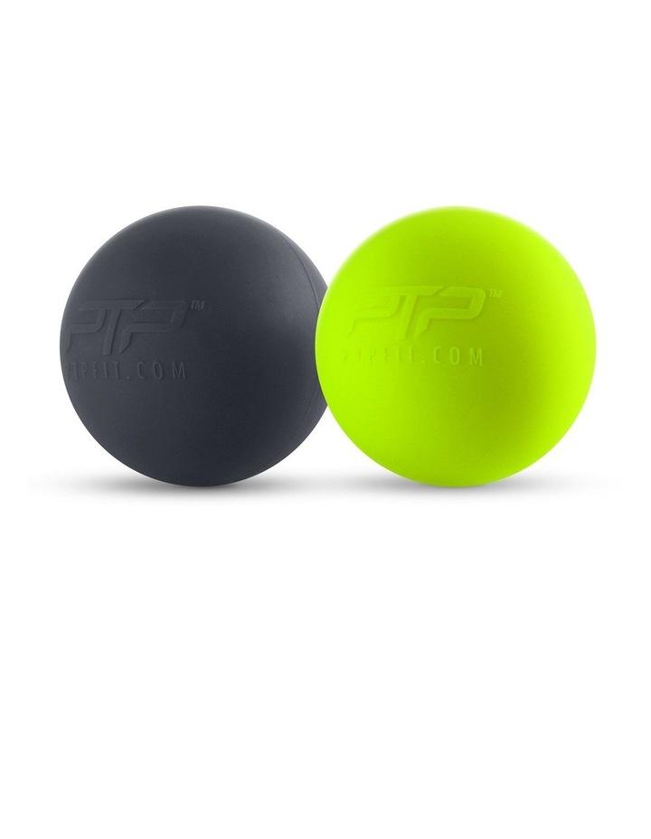 Massage Balls Combination Black/Lime image 2