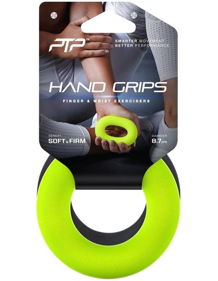 Hand Grip Loops Black/Lime image 1