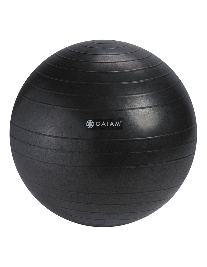 Backless Balance Ball Chair in Black image 3