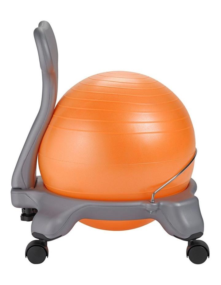 Kids Balanceball Chair Grey/Orange image 2
