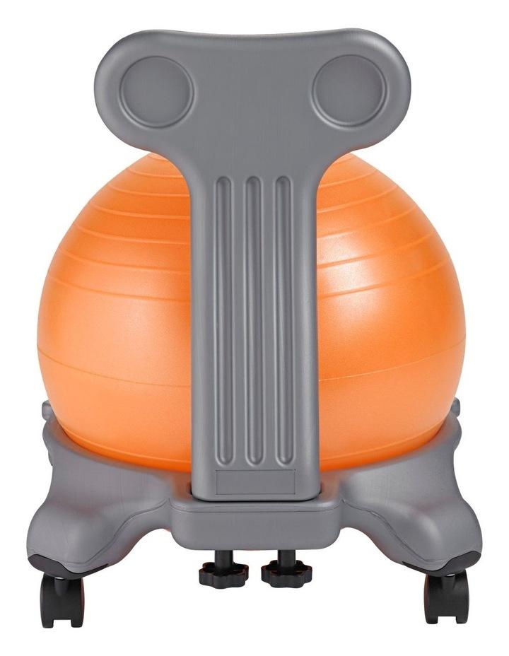 Kids Balanceball Chair Grey/Orange image 3