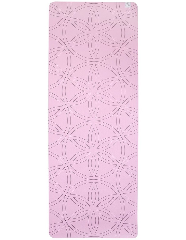 Soft Grip 5mm Printed Yoga Mat in Light Purple image 2