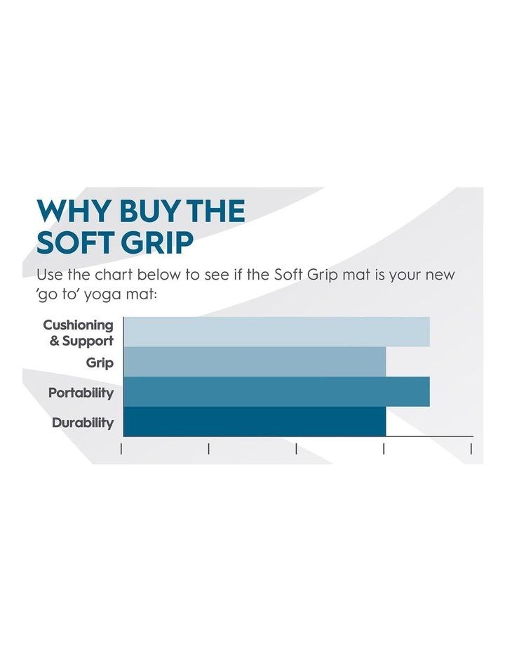 Soft Grip 5mm Printed Yoga Mat in Light Purple image 6