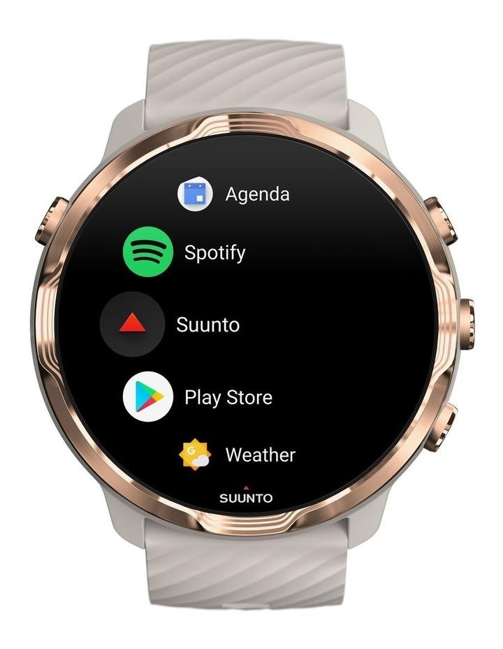 SUUNTO 7 Smartwatch- Sandstone Rosegold image 2