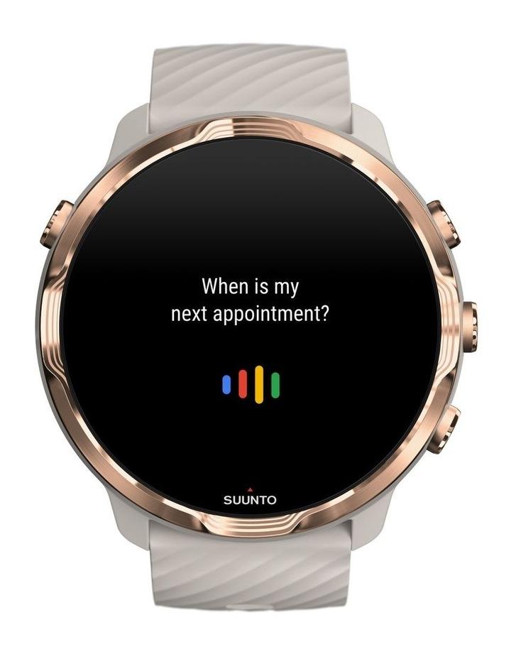 SUUNTO 7 Smartwatch- Sandstone Rosegold image 3