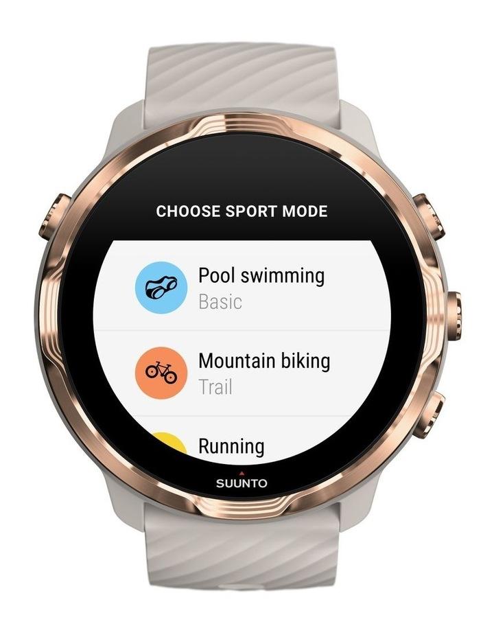 SUUNTO 7 Smartwatch- Sandstone Rosegold image 4