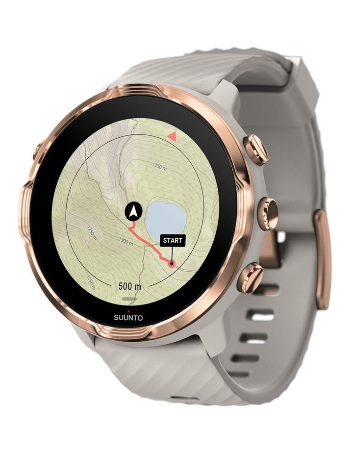 SUUNTO 7 Smartwatch- Sandstone Rosegold image 5