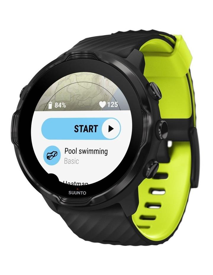 SUUNTO 7 Smartwatch - Black Lime image 5