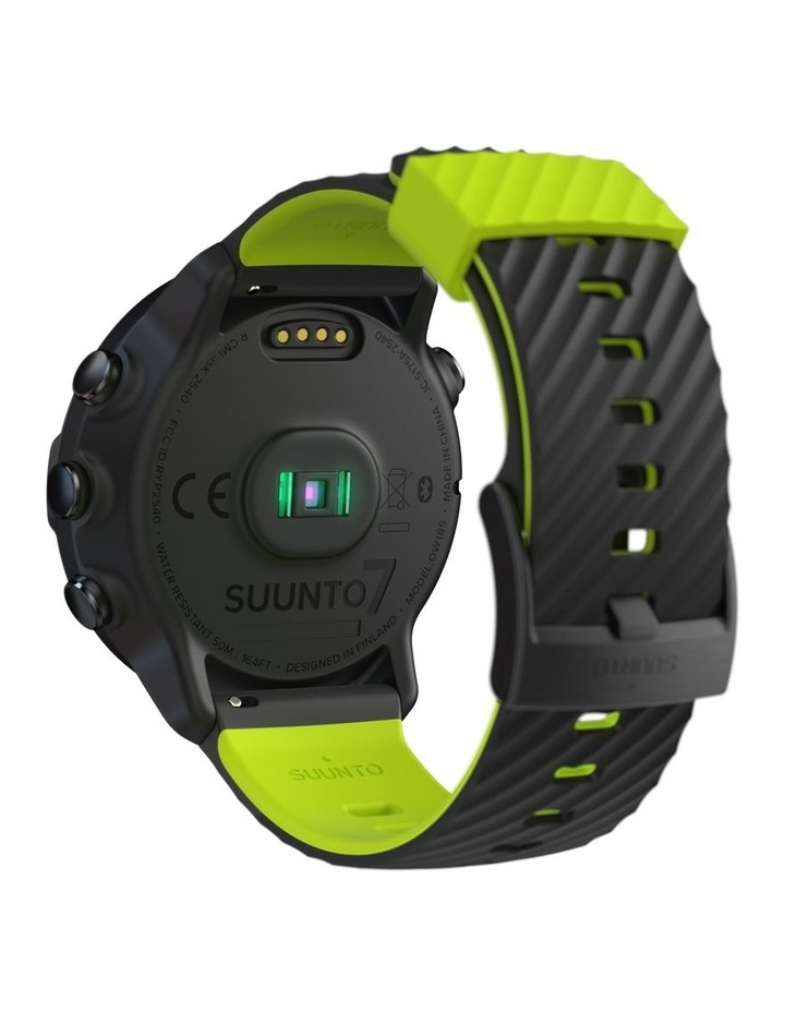 SUUNTO 7 Smartwatch - Black Lime image 7