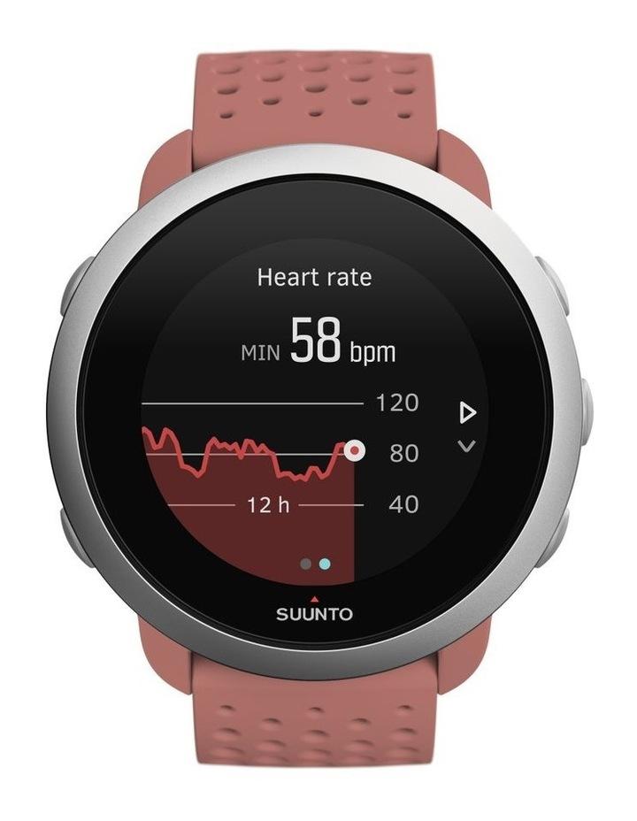 SUUNTO 3 Smartwatch -Granite Red image 1