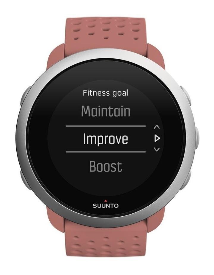 SUUNTO 3 Smartwatch -Granite Red image 2