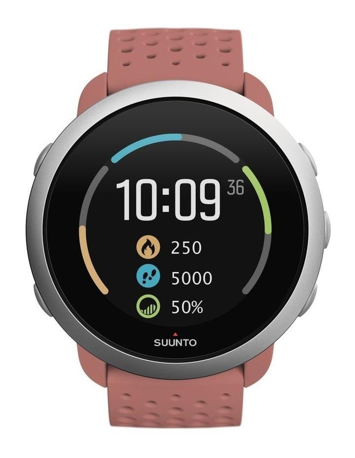 SUUNTO 3 Smartwatch -Granite Red image 3