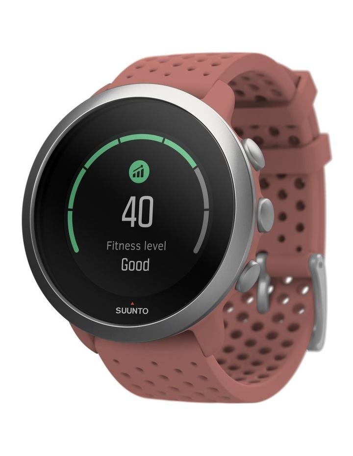 SUUNTO 3 Smartwatch -Granite Red image 4