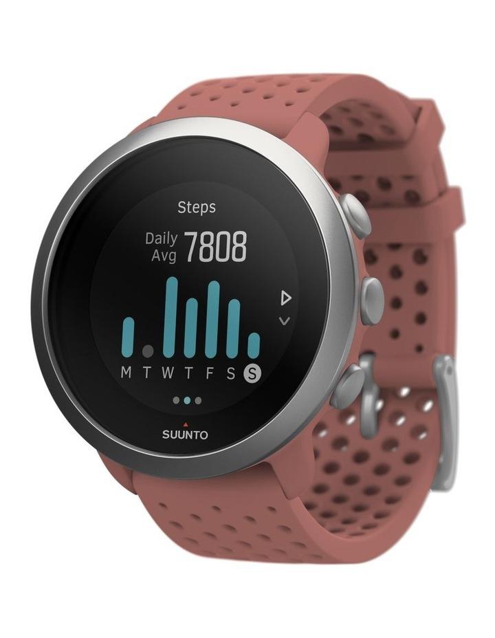 SUUNTO 3 Smartwatch -Granite Red image 5