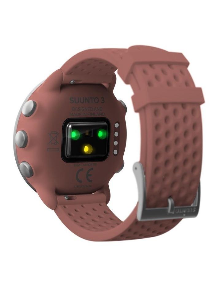 SUUNTO 3 Smartwatch -Granite Red image 6