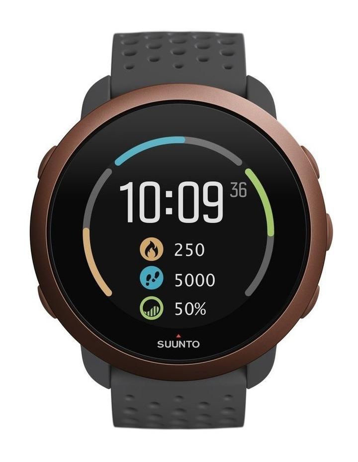 SUUNTO 3 Smartwatch -Slate Grey Copper image 3