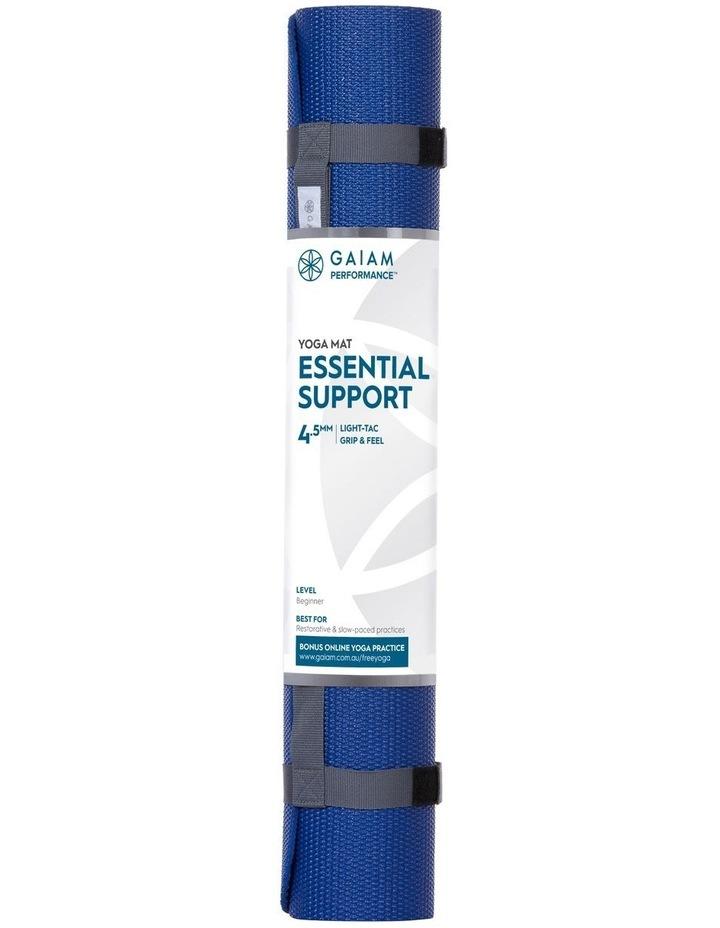 Essential Support 4.5mm Yoga Mat Blue Blue 27-73285 image 1