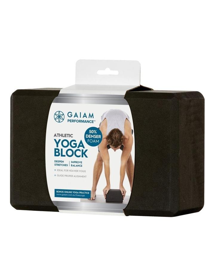 Athletic Yoga Block Black 27-70122 image 1