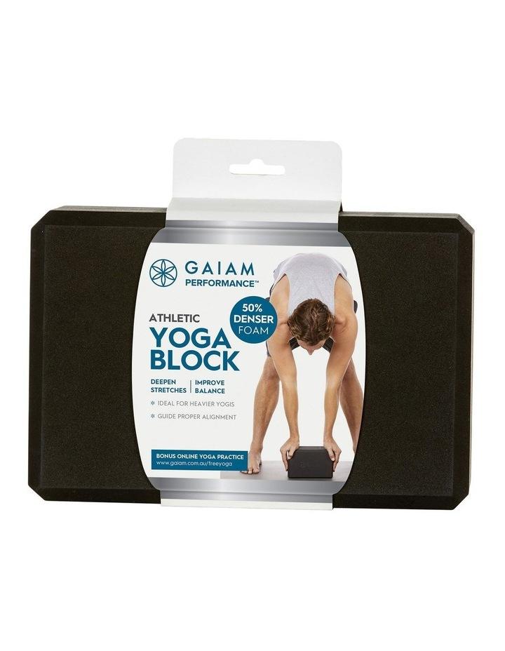 Athletic Yoga Block Black 27-70122 image 3