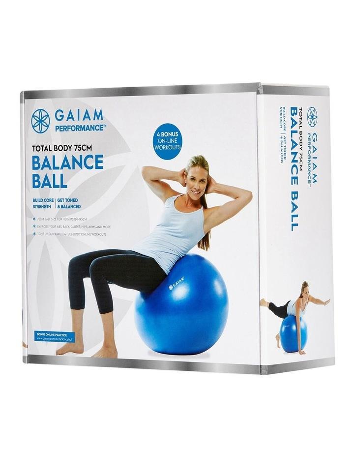 Balance Ball Kit 75cm Blue 27-70225 image 1