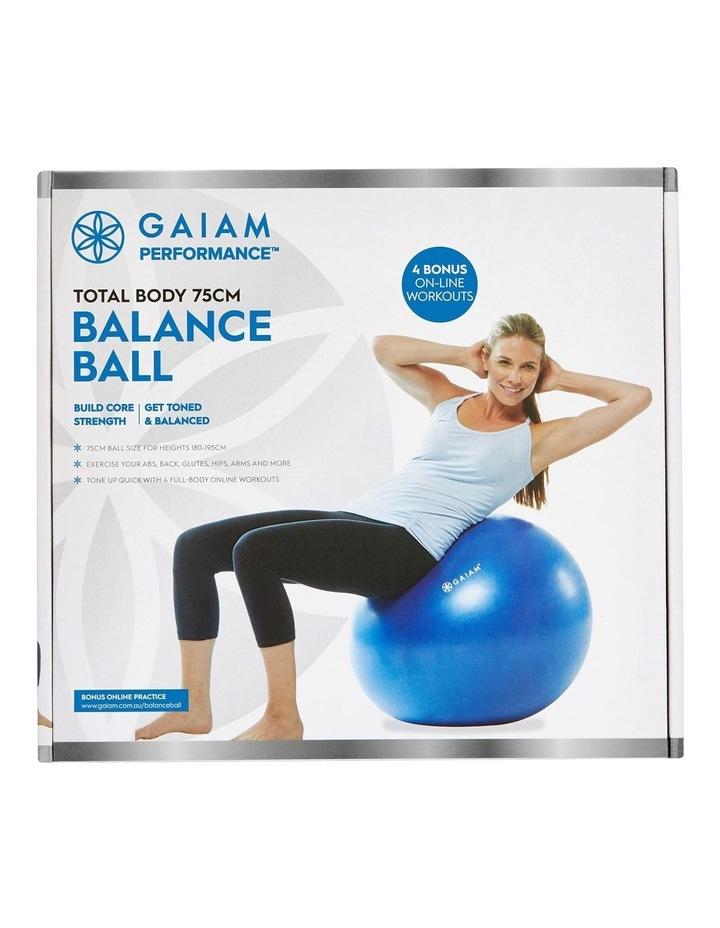 Balance Ball Kit 75cm Blue 27-70225 image 3
