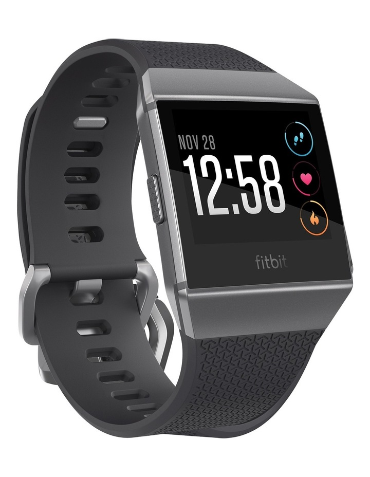 Ionic Smart Fitness Watch - Charcoal / Smoke Grey image 1