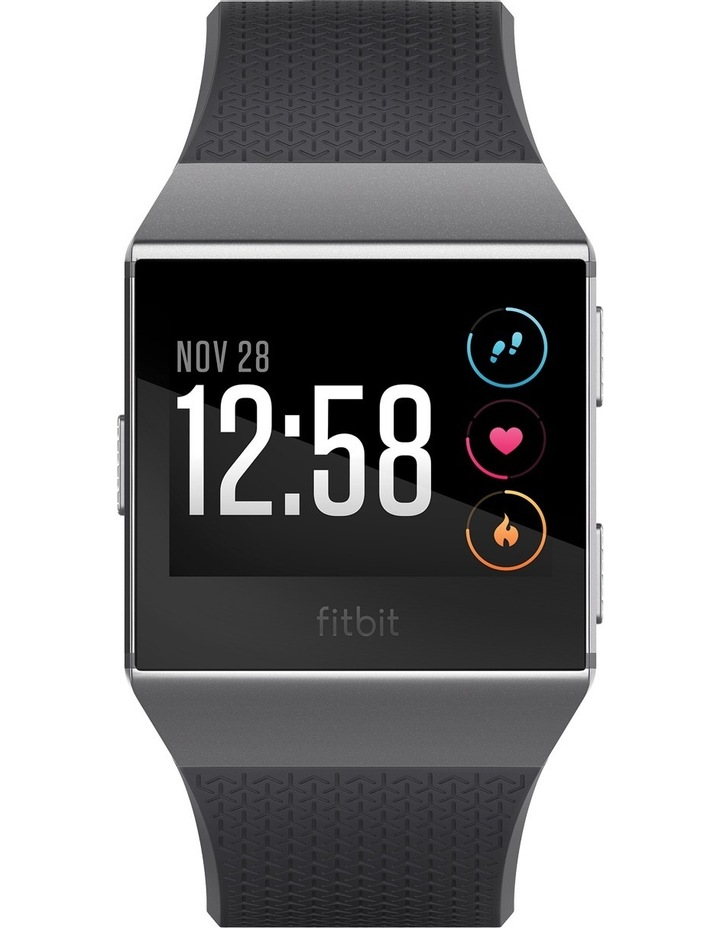 Ionic Smart Fitness Watch - Charcoal / Smoke Grey image 2