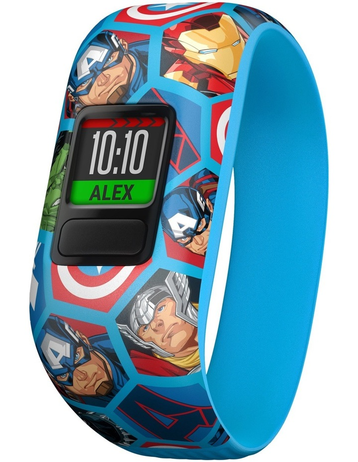 Vivofit Jr. 2 - Stretchy Marvel Avengers Band image 1