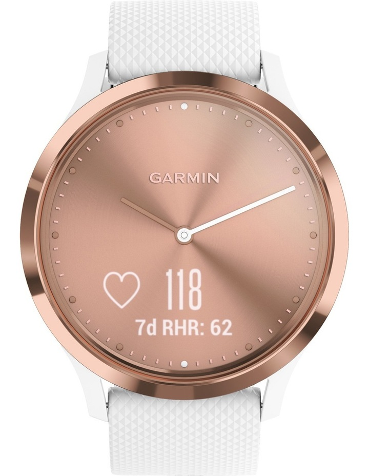 Vivomove HR Sport S/M - Rose Gold/White image 2