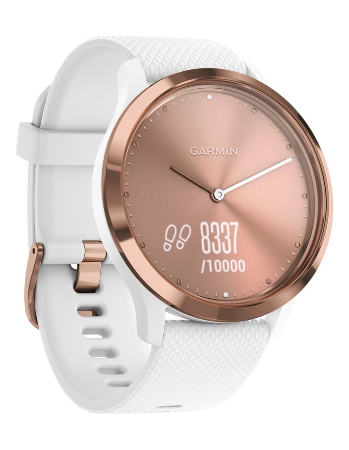 Vivomove HR Sport S/M - Rose Gold/White image 3