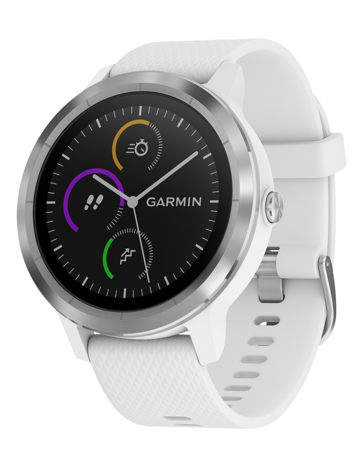 Vivoactive 3 - Stainless/White image 1